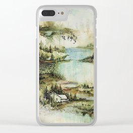 Bon Iver Clear iPhone Case