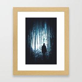 The Ice Man (Color) Framed Art Print
