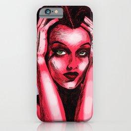 Pop Art Hedy iPhone Case