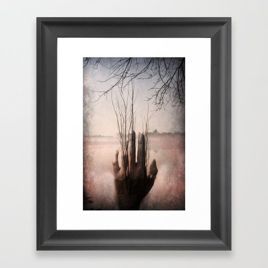 Dormant Framed Art Print