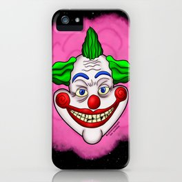 Killer Klown From Outer Space iPhone Case