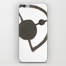 Earth and Moon iPhone & iPod Skin