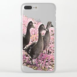 Young Ducks Clear iPhone Case