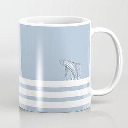 Ocean lines Coffee Mug