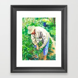 Squantz Framed Art Print