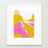 road Framed Art Prints featuring Road by Mr and Mrs Quirynen