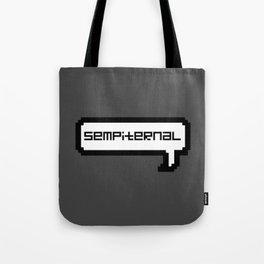 Sempiternal - Grey Tote Bag