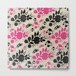 floral patter Metal Print