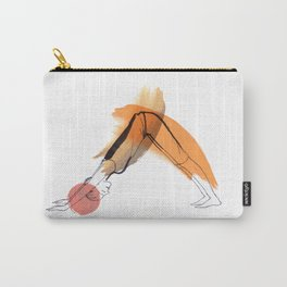 Yoga Sport Orange Carry-All Pouch