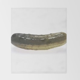 Dill Pickle Throw Blanket