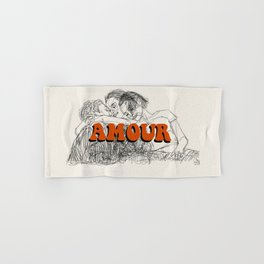 Amour Hand & Bath Towel