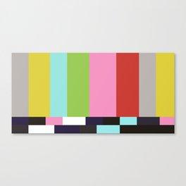 Signal TV Canvas Print