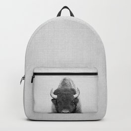 Buffalo - Black & White Backpack