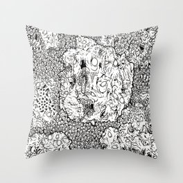 Anxiety Throw Pillow