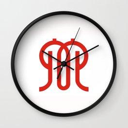 kanagawa region flag japan prefecture Wall Clock