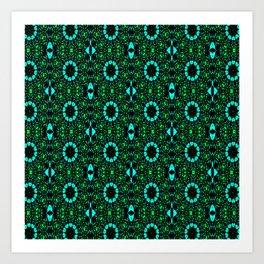 Pattern BC Art Print