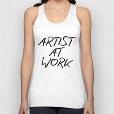 Artist At Work Unisex Tank Top