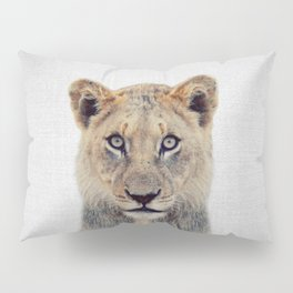 Lioness II - Colorful Pillow Sham