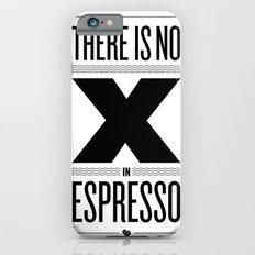 No X in Espresso – Black Slim Case iPhone 6s