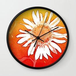 Sunflower Sunshine Wall Clock