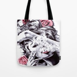 Bed of Roses Tote Bag