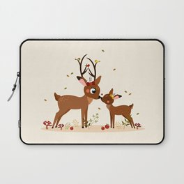 Bisou ma biche Laptop Sleeve