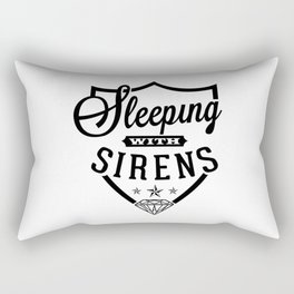 sleeping with sirens logo Rectangular Pillow