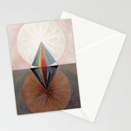 Hilma af Klint Group IX/SUW The Swan No. 12 Stationery Cards