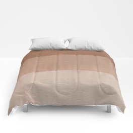 Dusty Rose Ombre Comforters