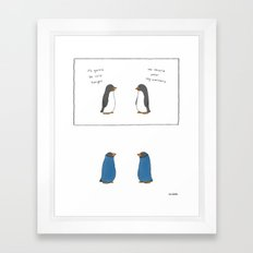 Leg Warmers  Framed Art Print