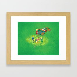We Reprezent Framed Art Print