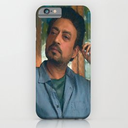 "Irrfan Khan as Robert in ""Puzzle"" iPhone Case"
