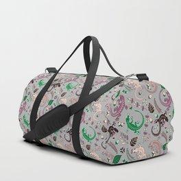 Pink lizards Duffle Bag