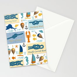 Nautical Knots Stationery Cards