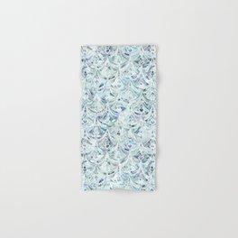 Ice and Diamonds Art Deco Pattern Hand & Bath Towel