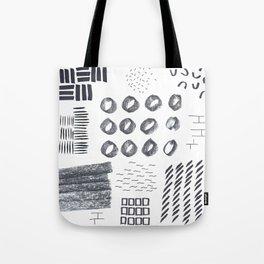 Abstract Marks Nr 1 Tote Bag