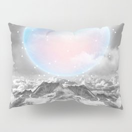 Places Neither Here Nor There (Guardian Moon) Pillow Sham