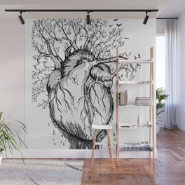 Heart of Nature Wall Mural