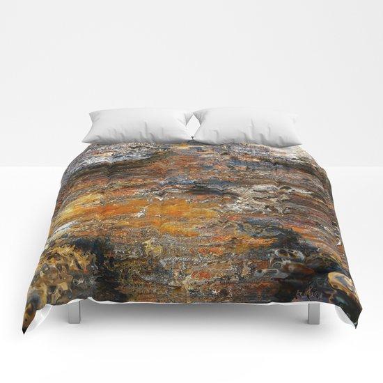 Texture mars rocks Comforters