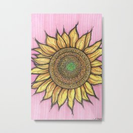 SOLFLOWER Metal Print