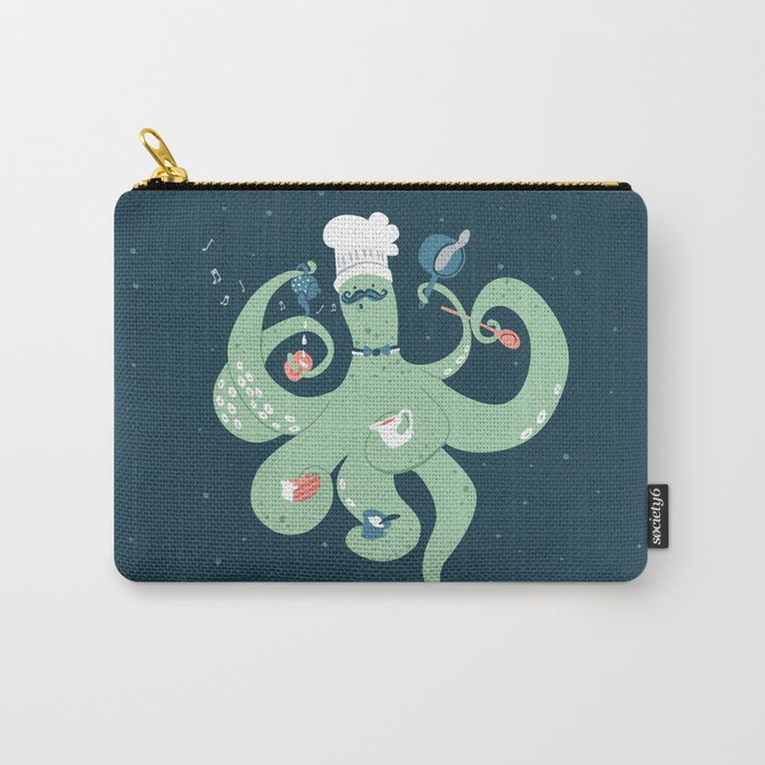 The Octopus Chef Carry-All Pouch