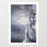 buddha Art Prints featuring Buddha by LebensART Photography