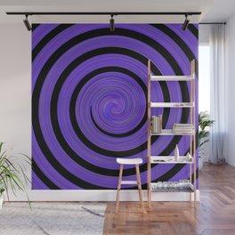 Blur waves Wall Mural