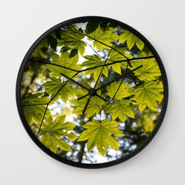 Leave It Be Wall Clock