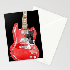 Gibson SG  Stationery Cards