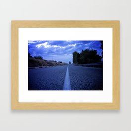 Road Theatre Framed Art Print