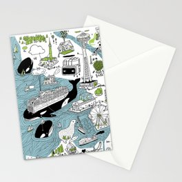 Seattle! Stationery Cards