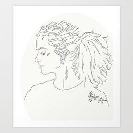 Clara Art Print
