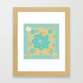 Sea Urchins Framed Art Print