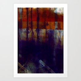 mercurial + caustic Art Print